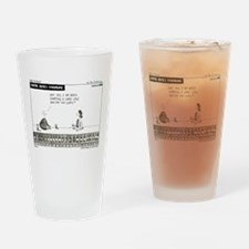 Carpal Bates Syndrome Drinking Glass
