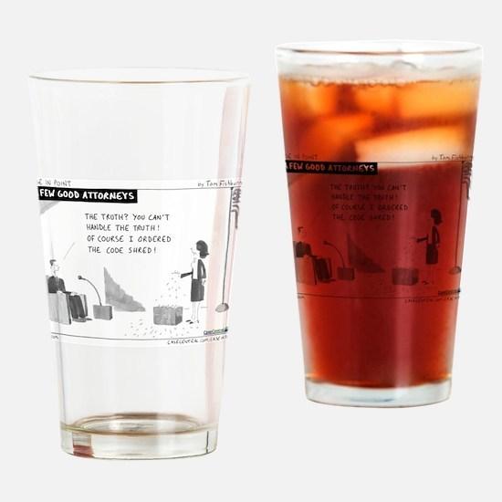 A Few Good Attorneys Drinking Glass