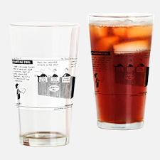 Litigation Idol Drinking Glass