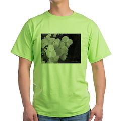 .monochrome hydrangea. T-Shirt