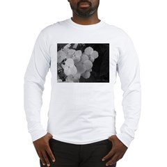 .monochrome hydrangea. Long Sleeve T-Shirt