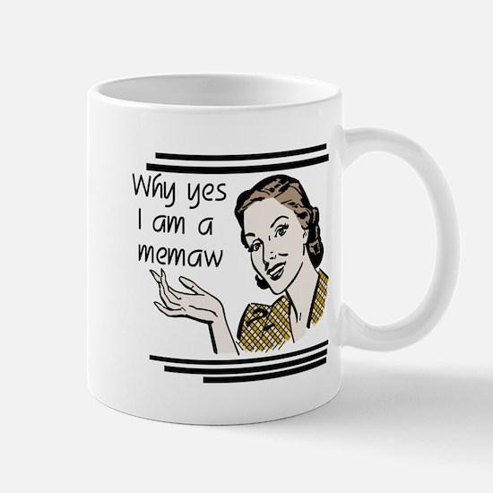 Retro Memaw Mug