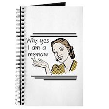 Retro Memaw Journal