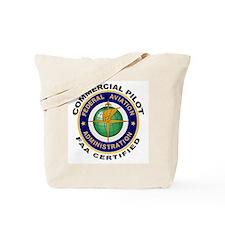 Commercial Pilot Tote Bag
