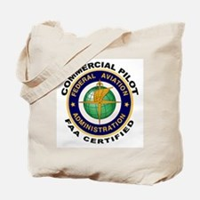 Commercial Pilot Tote Bag