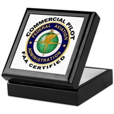 Commercial Pilot Keepsake Box