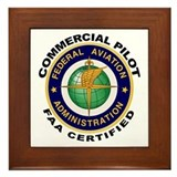 Commercial pilot Framed Tiles