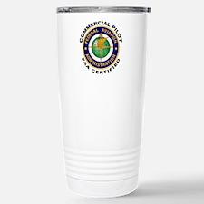 Commercial Pilot Travel Mug