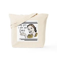 Retro Oma Tote Bag