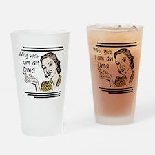 Retro Oma Drinking Glass