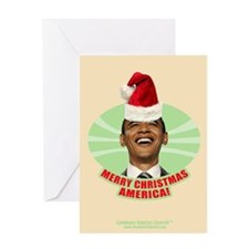 Obama Merry Christmas Greeting Card