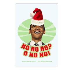 Ho Ho Ho? Obama No No No! Postcards (Package of 8)