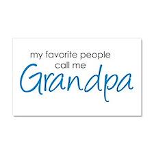 Favorite People Call Me Grand Car Magnet 20 x 12