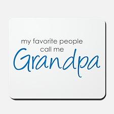 Favorite People Call Me Grand Mousepad