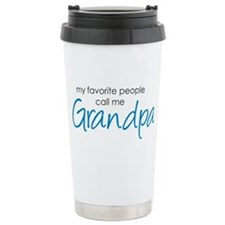 Favorite People Call Me Grand Travel Mug