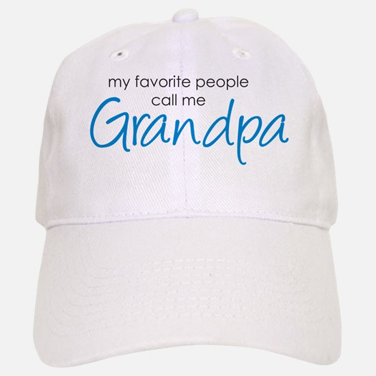 Favorite People Call Me Grand Baseball Baseball Cap