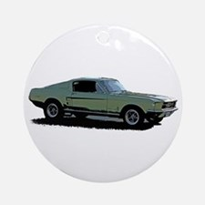 67 Mustang 4 Ornament (Round)