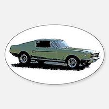 67 Mustang 4 Decal