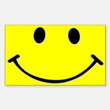 Smiley Yellow Decal