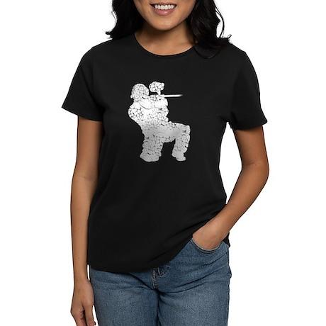 Worn, Vintage Paintball Women's Dark T-Shirt