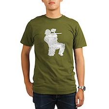 Worn, Vintage Paintball T-Shirt