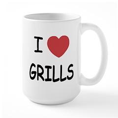 I heart grills Mug
