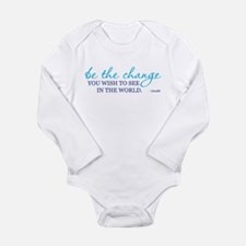 Be the Change Long Sleeve Infant Bodysuit