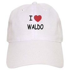 I heart waldo Baseball Cap