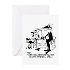 I Swear to Tell The Truth ... Almost Greeting Card