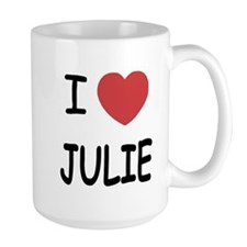 I heart julie Mug