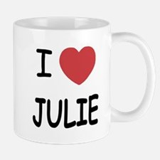 I heart julie Small Small Mug