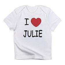 I heart julie Infant T-Shirt