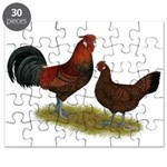 Old English Pheasant Fowl Puzzle