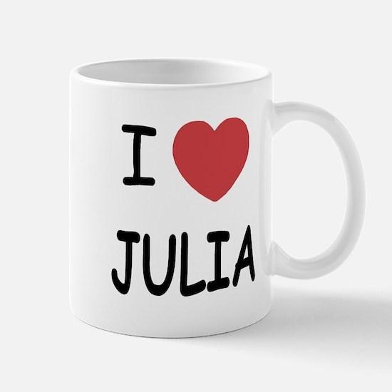 I heart julia Mug
