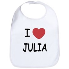I heart julia Bib
