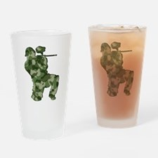 Paintball, Camo Drinking Glass