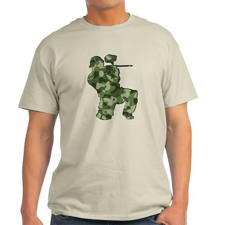 Paintball, Camo Light T-Shirt