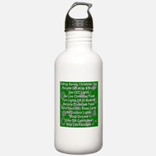 Energy Saving Christmas Tips Water Bottle