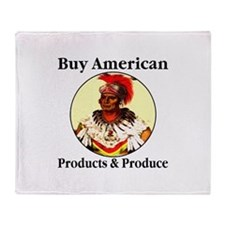 Buy American Products & Produ Throw Blanket
