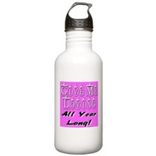 Give Me Loving All Year Long Water Bottle