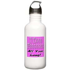 Merry Christmas All Year Long Water Bottle