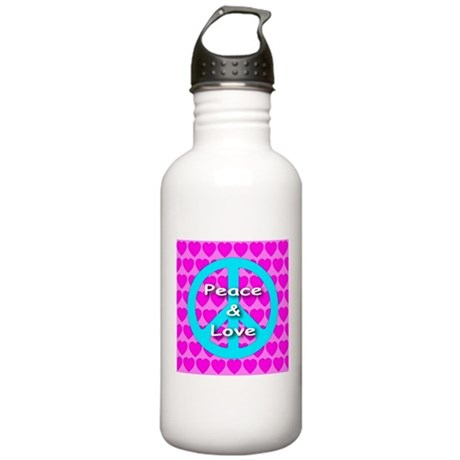 Peace Symbol Stainless Water Bottle 1.0L