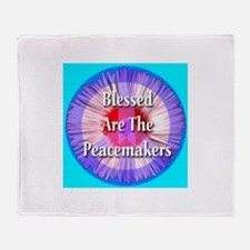 Blessed Are The Peacemakers S Throw Blanket