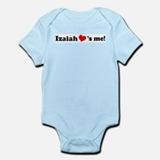 Izaiah Loves Me Infant Creeper
