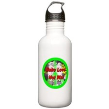 Funny I love making wishes Water Bottle