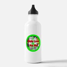 Funny Dandelion wishes Water Bottle