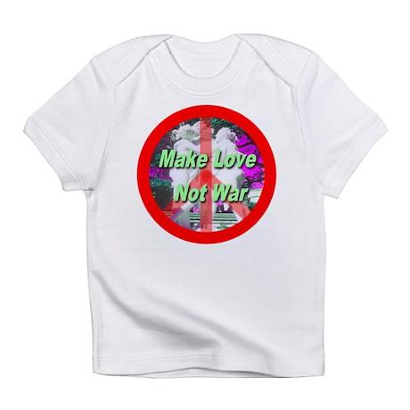 Make Love Not War Three Grace Infant T-Shirt