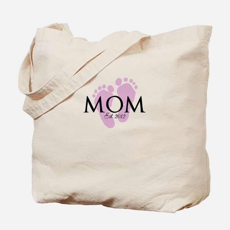 New Mom Customizable Year Tote Bag