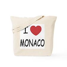 I heart monaco Tote Bag