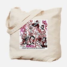 The Red Tape Was Monumental Tote Bag